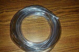 ATP Vinyl-Flex PVC Food Grade Plastic Tubing, Clear, 1/4