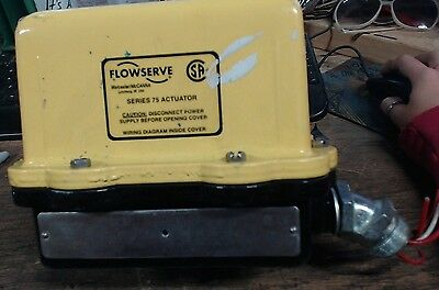 Used Flowserve series 75 actuator - 60 day warranty
