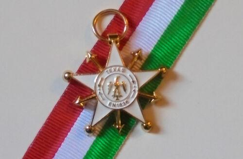 Mexico Battle Republic Texas Alamo Independence Rangers War Medal Badge Mexican