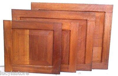 - 2 RAISED PANEL KITCHEN CABINET DOOR 18