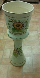 Retro indoor flower pot