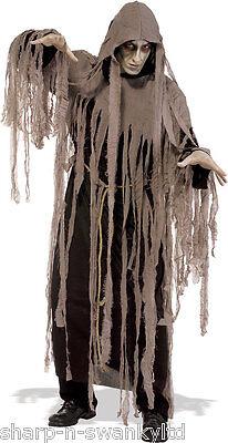 Herren Toter Zombie Alptraum Halloween Kostüm Kleid Outfit Std & XL ()