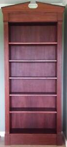 Custom hand made solid hardwood (Jarrah) bookcase One Tree Hill Playford Area Preview
