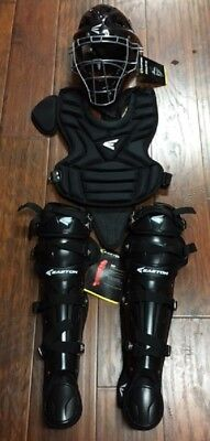 Easton M7 Junior Youth baseball catchers gear Ages 6 - 8 Black