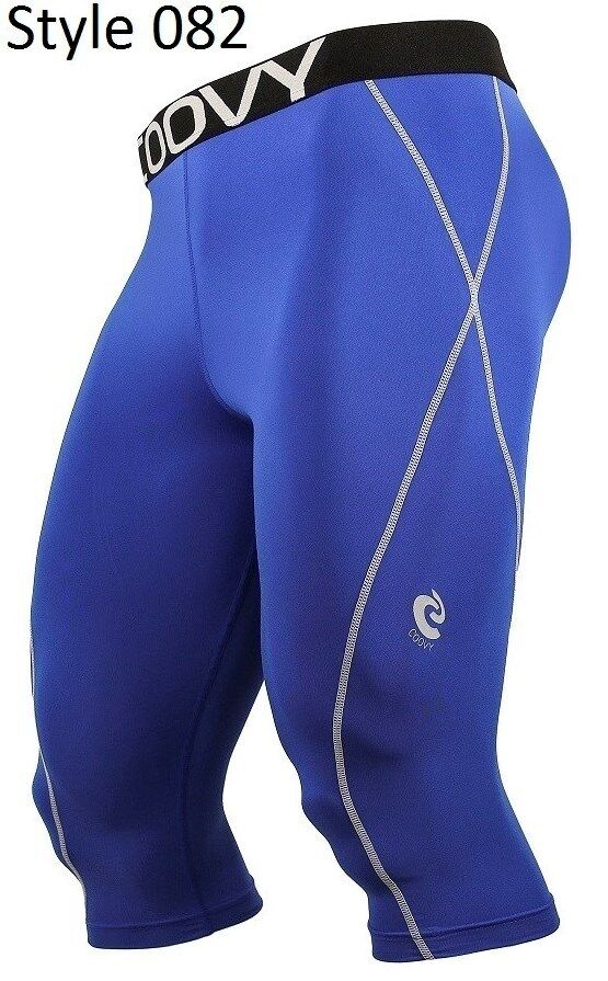 082 Blue 3/4 Long Pant