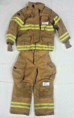 Janesville Lion Firefighter Turnout Bunker Set Jacket 42x32 Pants 36r 36x29 S65