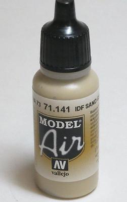 Grey Sand (Vallejo IDF Sand Grey Air Acrylic Paint 17ml Bottle VAL)