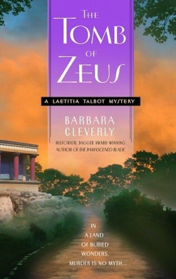 historical mystery THE TOMB OF ZEUS 2007 Barbara Cleverly se