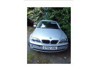 BMW 320i SE 2.2, 2002 - MOT til end Nov 2017 - owned for 8 years good runner