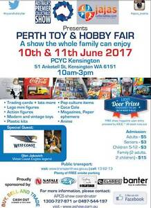 COLLECTORS WANTED: Perth Toy and Hobby Fair Kensington South Perth Area Preview