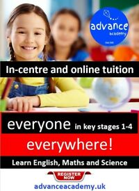 KEY STAGES 1-4 - Primary & Secondary English, Maths & Science Tuition - In centre & Online