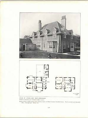 Cottage House Floorplans - 1907 Cottage Hook Heath Floorplans Lynden End Birmingham House