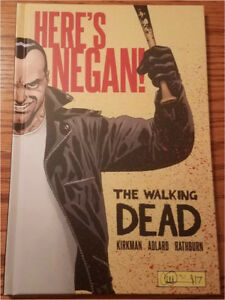 WALKING DEAD HERES NEGAN HARDCOVER 1ST PRINT COMICS