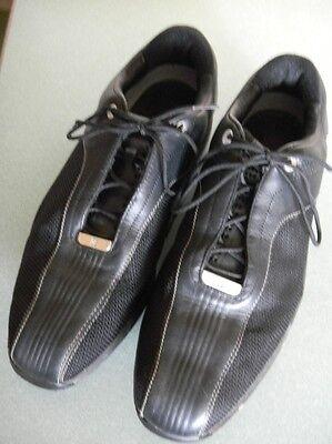 (Tiger Woods Black Leather/Mesh Nike Power Channel Golf Shoe US 12, UK 11, EUR 46)