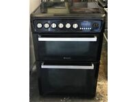 Hotpoint ceramic electric cooker 60 cm very good condition very nice 👍🏿 black