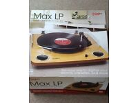 ION STEREO LP TURNTABLE