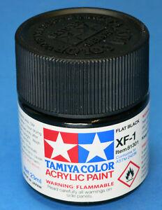 Flat Black Acrylic Paint