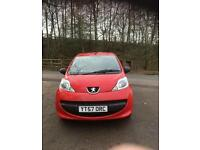 PEUGEOT 107 1.0 3DR RED 2 OWNERS AND SERVICE HISTORY FOR SALE £2,000 O.N.O