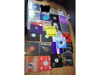 "lot of 26 1991 era rave house bleep 12"" vinyl, including carry box"