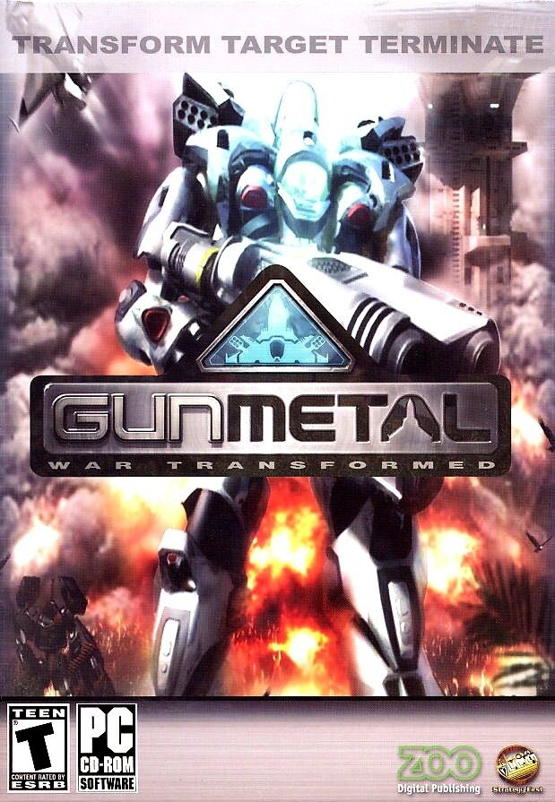 Computer Games - Gun Metal War Transformed PC Games Windows 10 8 7 XP Computer mech combat scifi