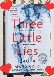Three Little Lies * Psychological Thriller * - Laura Marshall - Book / Novel
