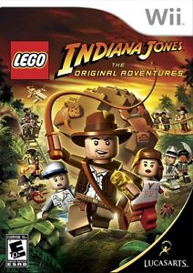 NEW SEALED Wii LEGO INDIANA JONES THE ORIGINAL ADVENTURES US VERSION NTSC-U/C