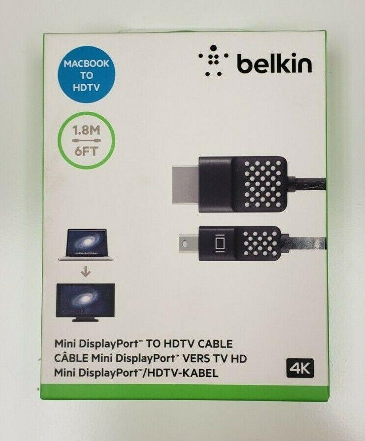 Belkin Mini DisplayPort to HDTV Cable - HDMI/Mini
