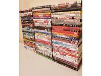 *** HUGE DVD BUNDLE of 88 DVDS- ALL SPOTLESS TOP TITLES ***