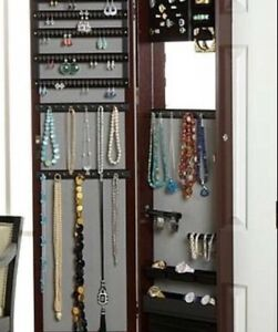 Hot Deal- over the door jewlery armoire $85 negotiable