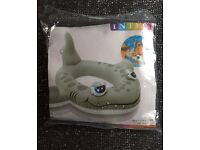 Inflatable Shark Pool swimming Toy NEW