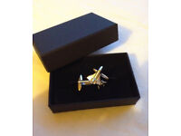 NASA Silver Colour Space Shuttle Cufflinks Discovery Atlantis In Gift Box Kennedy Space Center Moon