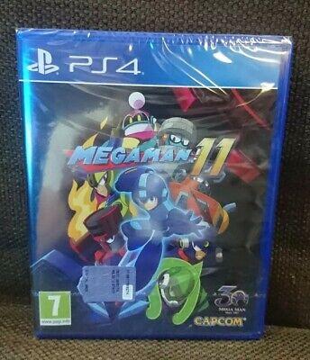 Megaman 11 Mega Man Capcom Ps4 PlayStation 4 Nuovo New Sigillato Italiano...
