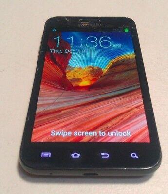 Samsung Galaxy S2 (SPH-D710) Black 16GB Sprint - Fully functional - READ BELOW