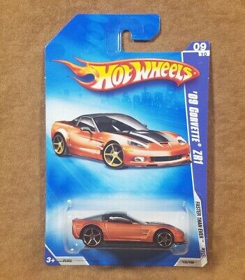 Hot Wheels 2009 Faster Than Ever Corvette ZR1 Brown Variant