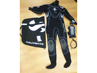 Scubapro Everdry 4 drysuit - Like new. Scuba diving