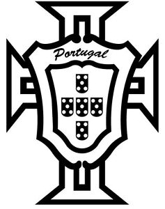 Details about Sticker Portugal logo FPF pour voiture (30cm X 23cm)