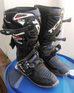Boots  - TCX Moto/Enduro boots.  Large size, worn once, like new. Fannie Bay Darwin City Preview