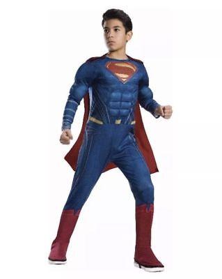 NEW Rubie's Justice League Superman Child Various sizes (Boy Superman Costume)