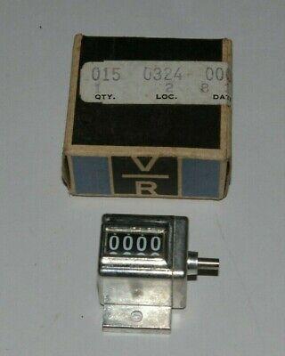 Veeder Root 4 Digit Mechanical Counter 188634