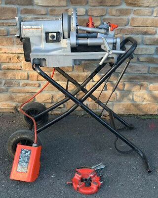 Ridgid 300 Compact Pipe Threader Threading Machine 811a Rigid 700 1224 12-2