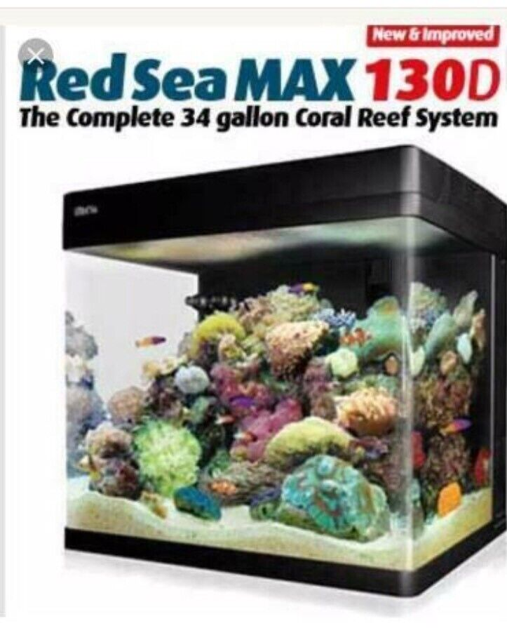 Red Sea Max 130 Aquarium Accessory Kit Upgrade Soft And Light Pumps (water)