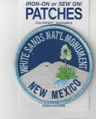 White Sands National Monuemnt New Mexico Souvenir Patch