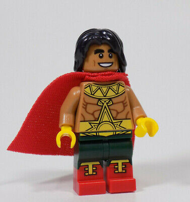 new Lego Minifigure EL Dorado Lego Batman Movie 2018 70919 Hispanic