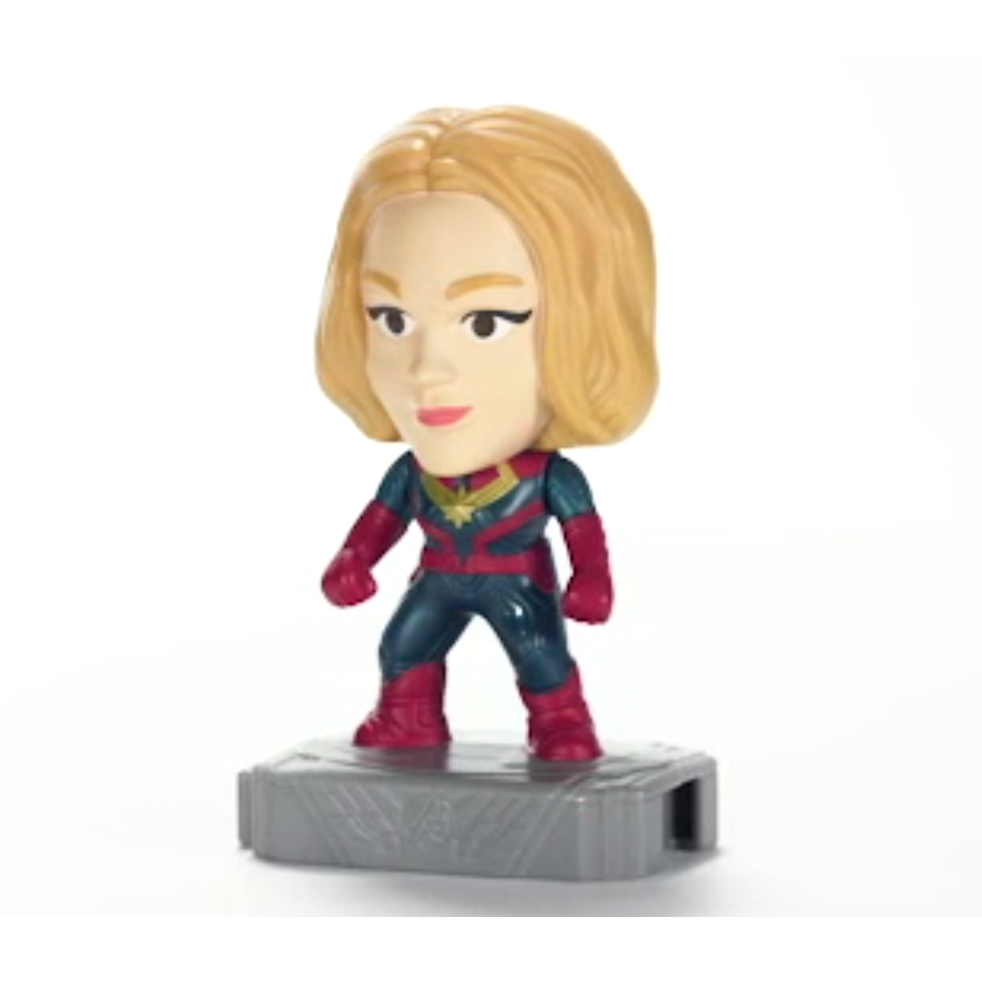 McDonalds 2019 Marvel Avengers Happy Meal Toy - Brand New in Sealed Package #5  Captain Marvel