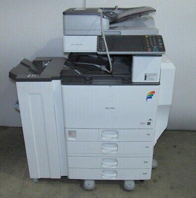 Ricoh Aficio Mp C5502 Color Mfp Color Laser Copier Printer Scanner