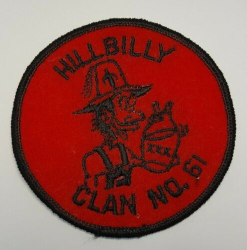 "Masonic Shriners Hillbilly Clan No. 61 Patch New 3"" Patch Freemason Rare"