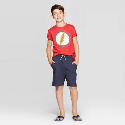 Cheap Sequin Shorts (NEW Boys' The Flash Americana Flip Sequin Short Sleeve T-Shirt - Red - XS)