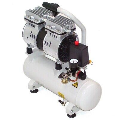 40362 leise Druckluft Kompressor ölfrei 750W Luftkompressor flüster Kompressor