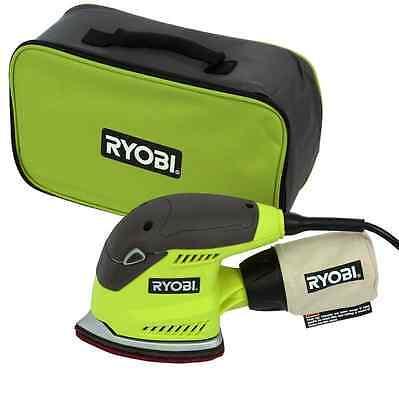 New Ryobi Corner Cat Sheet Sander Corded Electric Detail Sanding Hand Power Tool