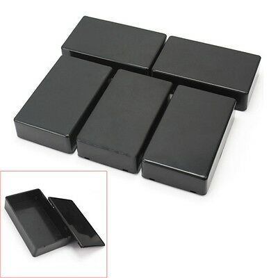 New 5pcs Plastic Electronic Project Box Enclosure Instrument Case 100x60x25mm Pz